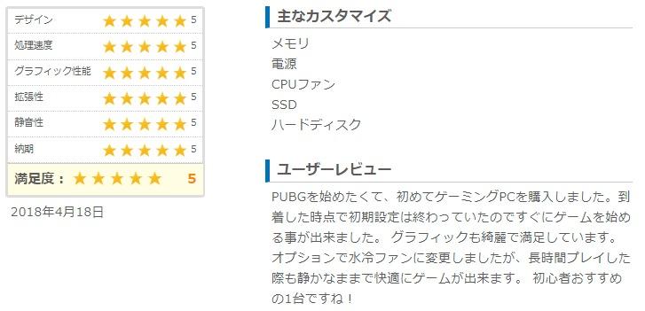 GALLERIA ZVのユーザーレビュー一覧|ドスパラ通販【公式】_ - https___www.dospara.co.jp_5shopping_detail_eval_graph_all.php