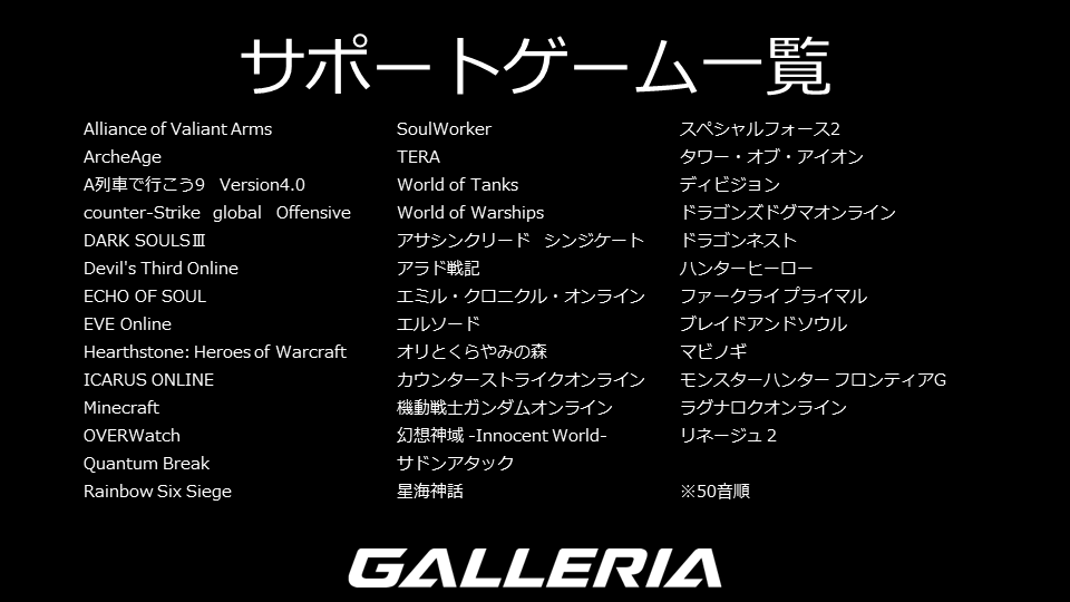 galleria-gamemaster-support