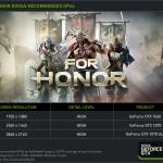 フォーオナー(For Honor) PC スペックとおすすめパソコン
